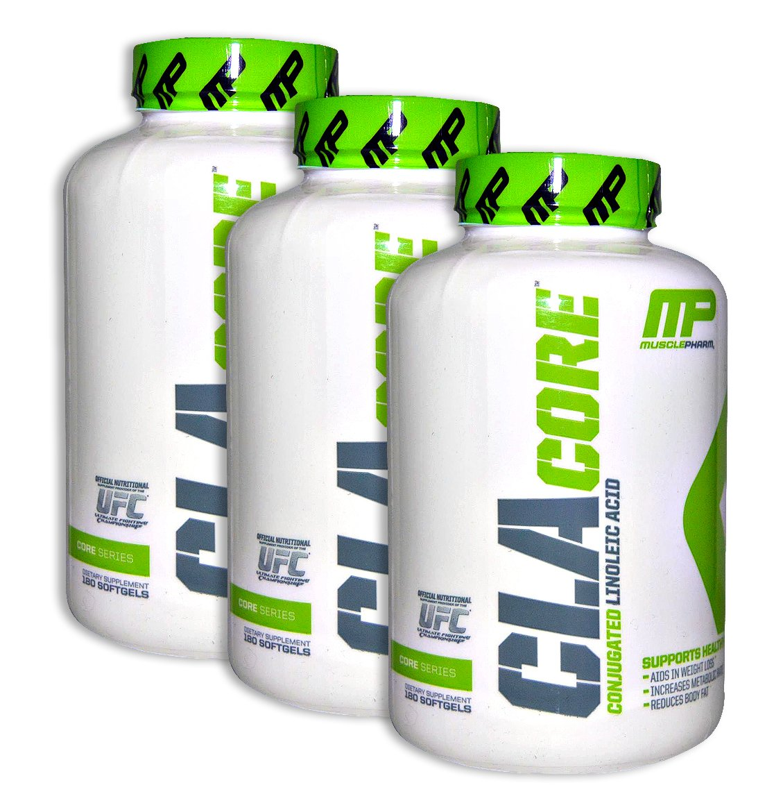 MusclePharm CLA 180 Softgels (3 Pack)