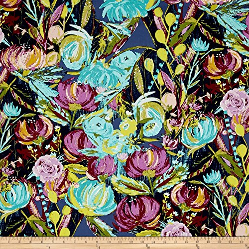 Art Gallery Fabrics Sage Painted Desert Fabric by the Yard, Night by Art Gallery Fabrics