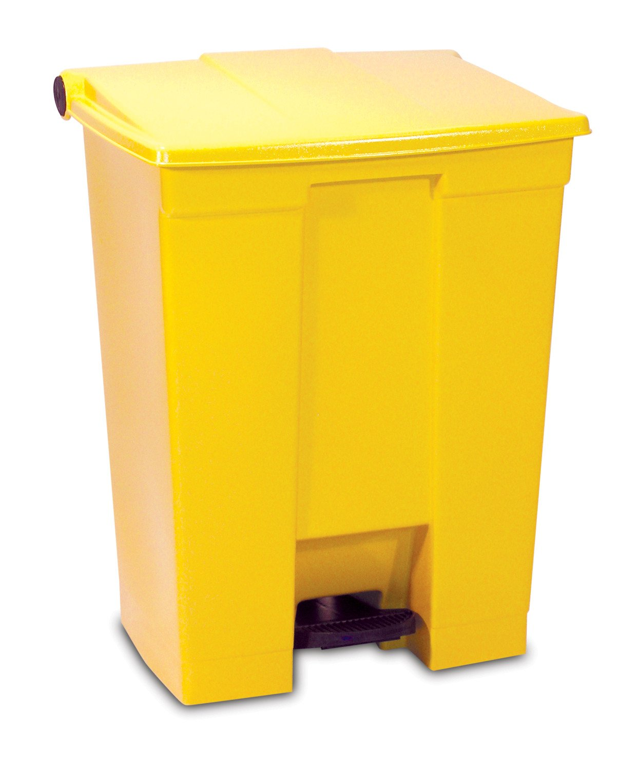 Rubbermaid Commercial Step-On Trash Can FG614300WHT White 8 Gallon