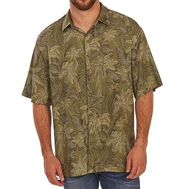 ee9b56baf Amazon.com: Campia Moda Men's Tonal Tropical Print Rayon Short ...