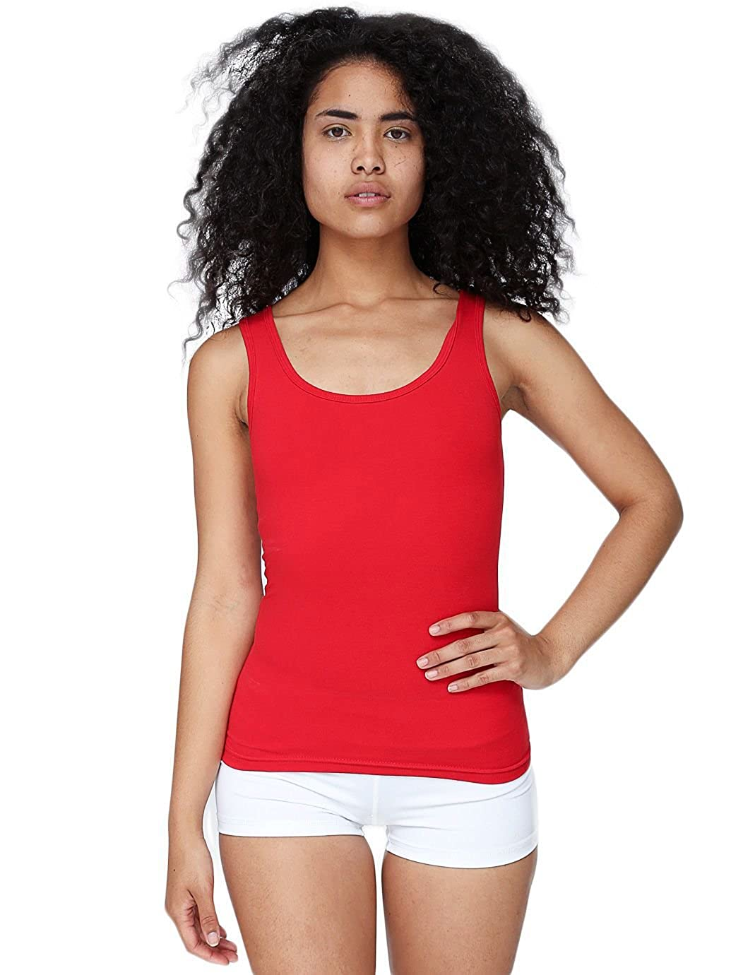 American Apparel Women Cotton Spandex Tank Top 8308
