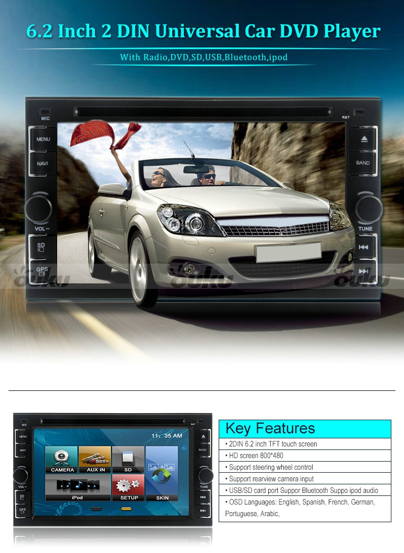 2016 Newest Double 2 Din Universal In Dash Car Dvd Auto Radio Receiver Player Bluetooth Video Audio Stereo Multimedia With 62 Inch Touch Screen Your System Diagram Page 9 Diymobileaudiocom