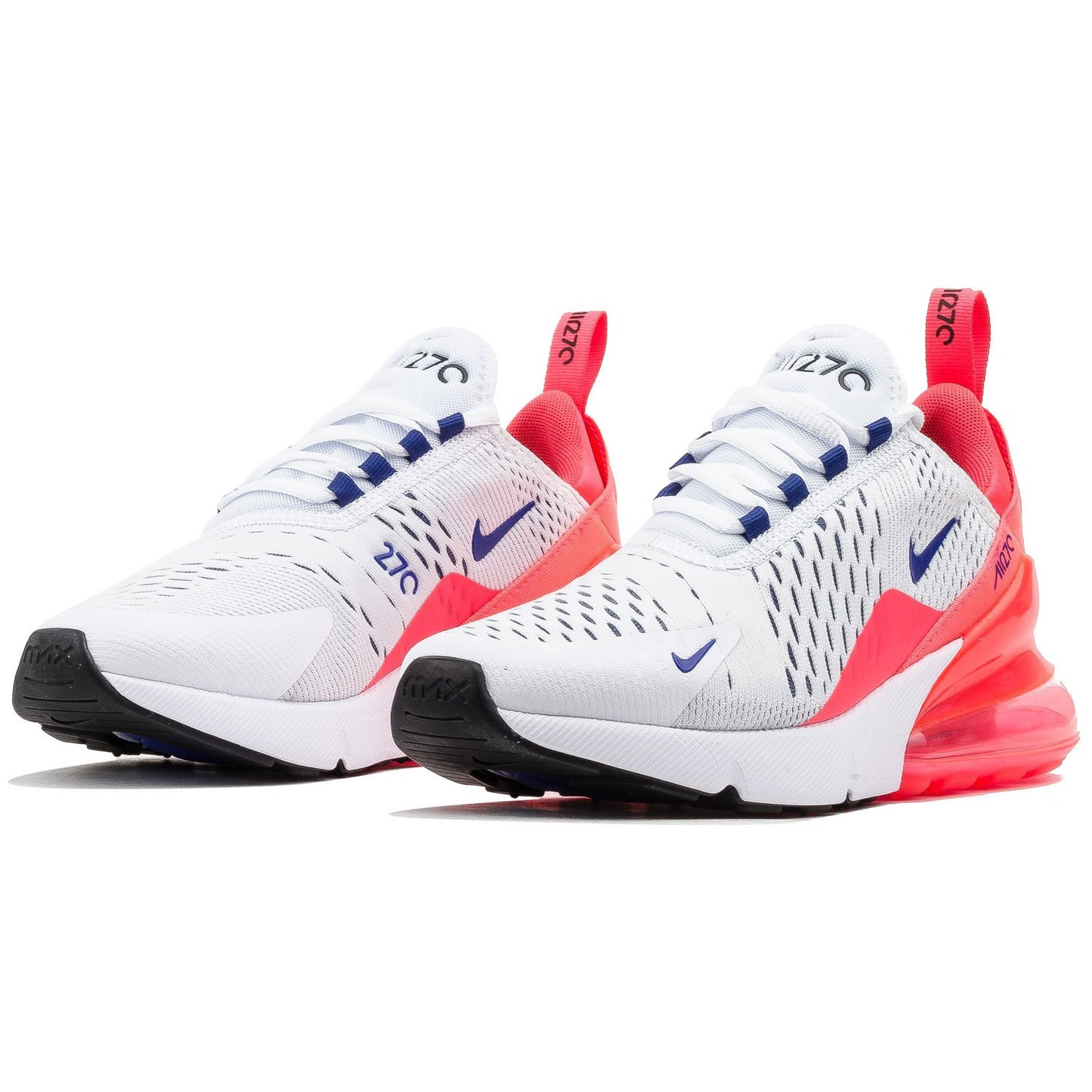 Amazon.com | Nike Womens Air Max 270 White/Ultra Marine AH6789-101 (Size: 6) | Running