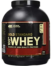 Optimum Nutrition 100% Whey Protéine Gold Standard, Fraise, Whey Isolate, 2,27 kg