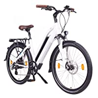 "NCM Milano 48V, 26""/28"" Zoll Damen & Herren Urban E-Bike Elektrofahrrad Pedelec, 250W Das-Kit Heckmotor, 13Ah 624Wh Li-Ion Zellen Akku, Mechanische Scheibenbremsen, 7 Gang Schaltung"
