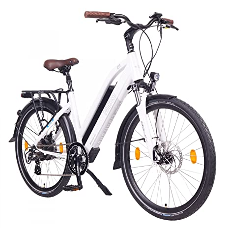 Ncm Milano Bicicletta Elettrica Da Trekking 250w Batteria 48v 13ah 624wh
