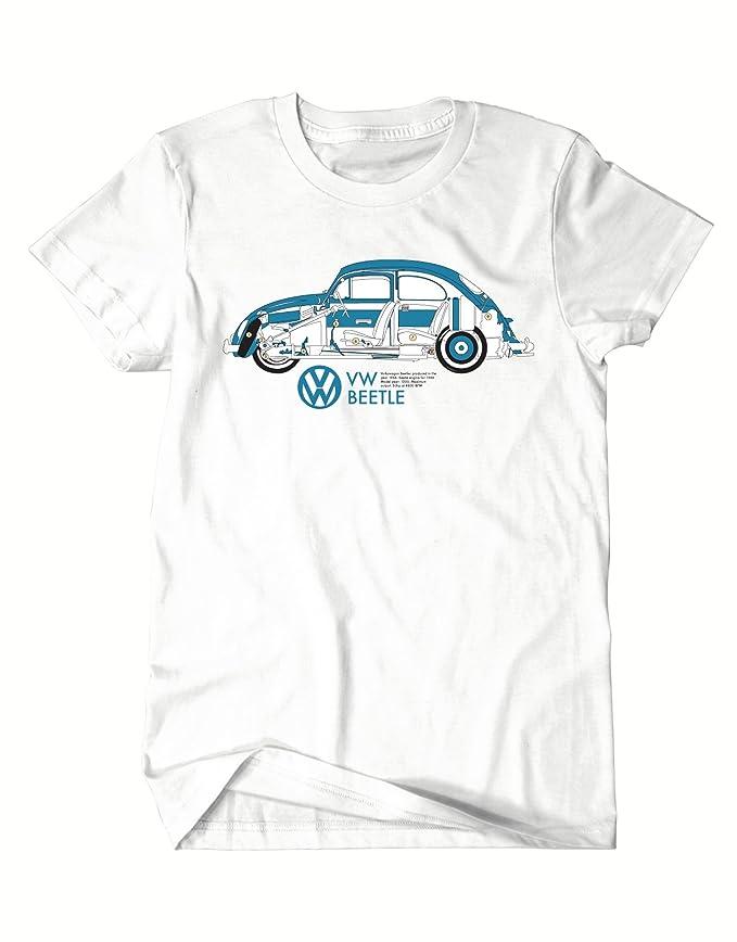 VW Beetle Haynes Workshop Manual VW Bug White T Shirt