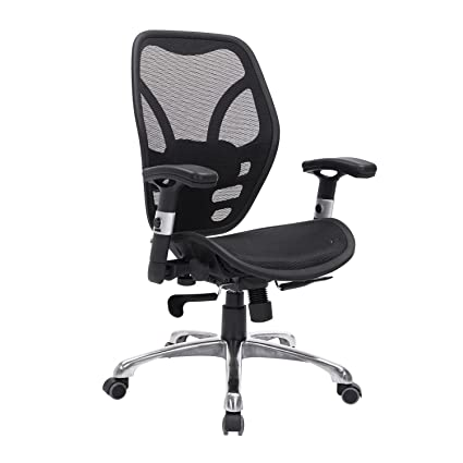 cool ergonomic office desk chair. HOMCOM Black Deluxe Mesh Ergonomic Office Desk Computer Task Chair Cool Ergonomic Office Desk Chair O