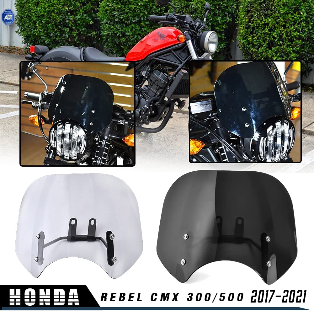 17 18 HONDA REBEL 300 500 CMX LED HEADLIGHT CONVERSION KIT CMX300 CMX500 2018