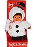 Monchhichi als Schneemann - ausziehbar - Monchichi Snowman Winter Weihnachten verkleidet Schnee