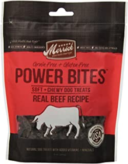 product image for Merrick Power Bites Real Texas Beef Recipe Treats 6oz (2 PACK)