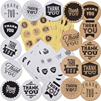 SERWOO Autocollants Etiquettes Thank You