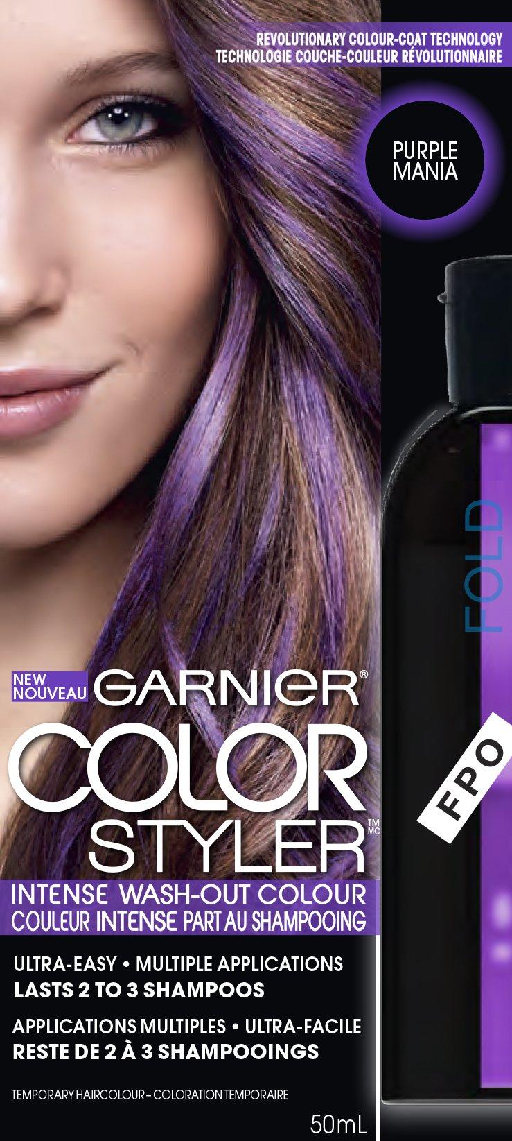 Amazon Garnier Hair Color Color Styler Intense Wash Out Color