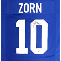 $99 » SEATTLE SEAHAWKS JIM ZORN AUTOGRAPHED BLUE JERSEY MCS HOLO STOCK #112484
