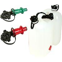 Bidón doble transparente para gasolina, 5 l, gasolina