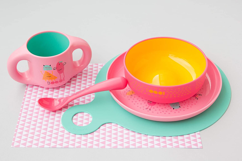 Material Irrompible Vajilla de Beb/é Color Azul Suavinex Bowl Infantil Para Beb/é Apto Para Microondas y Lavavajillas