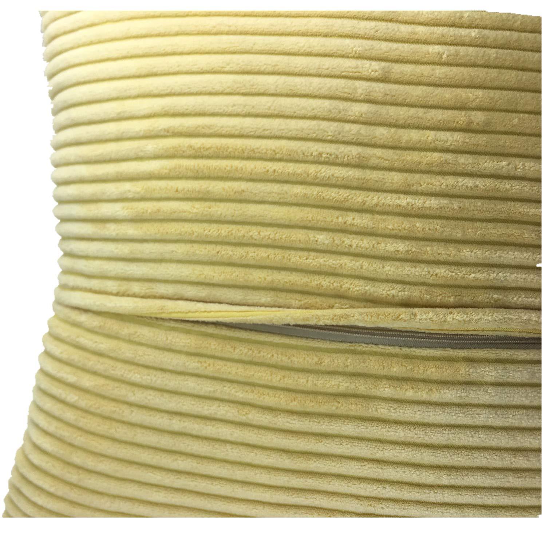 Purple, Corduroy Corn kernels QCTIANXIA Throw Pillow Covers Decorative Soft Velvet Corduroy Pillows Cushion Case ,Handmade Invisible Zipper car Couch Pillow Shells 18 x 18 Inch,Set of 2