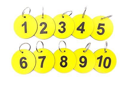 Llaveros circulares de origen, etiquetas para llaves ...