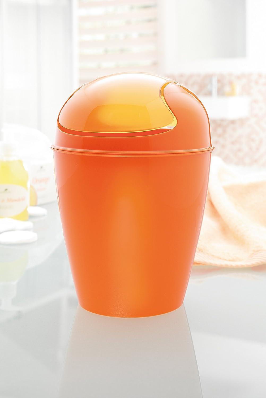 Koziol Del XS Schwingdeckeleimer Powder Pink Thermoplast