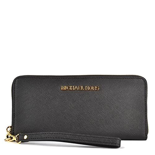 MICHAEL Michael Kors Jet Set Travel Portafoglio one size Nero  Amazon.it   Scarpe e borse 82b31b3068b