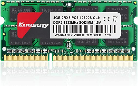 Samsung 16GB KIT 2X8GB PC3-10600S DDR3-1333MHZ 1.5v SO-DIMM Laptop Memory RAM