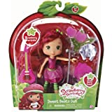 "The Bridge Direct Shortcake 6"" Sweet Beats Dolls: Strawberry with Guitar"