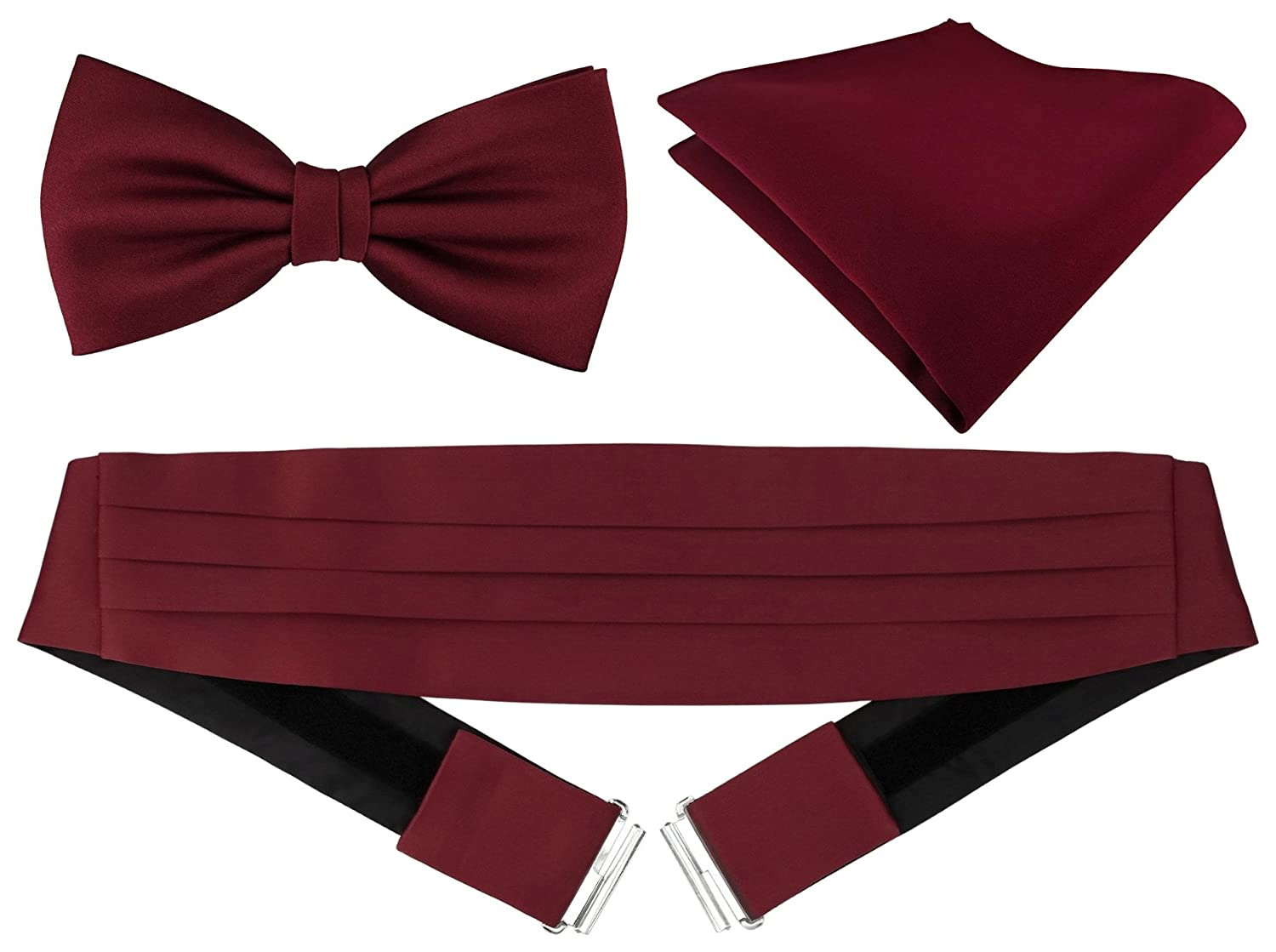 TigerTie Men's Plain Cummerbund