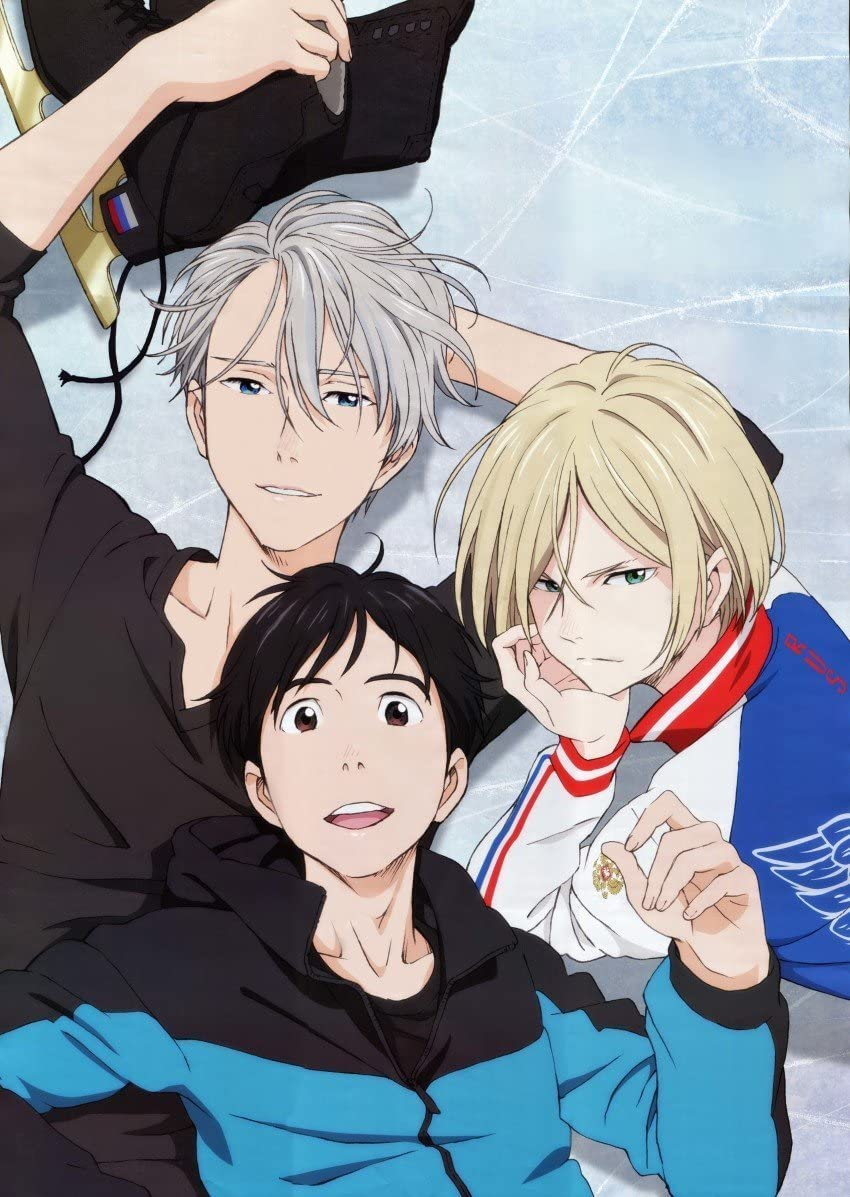"Amazon.com: 12"" x 16"" Yuri on Ice ユーリ!!! on ICE Anime Poster: Posters &  Prints"