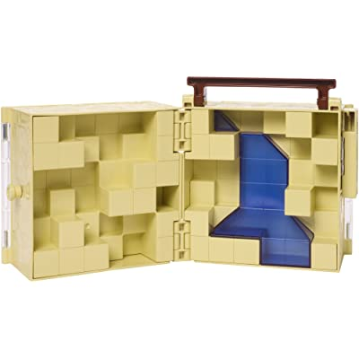 Minecraft Mini Figure Collector Case: Toys & Games