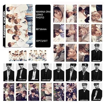 yovvin 30 pieza BTS Foto Tarjetas, Kpop BTS/Exo/got7/NCT/Big Bang/Twice/Seve nteen/Wanna One photocard, colección y mejor regalo para The Army y The ...