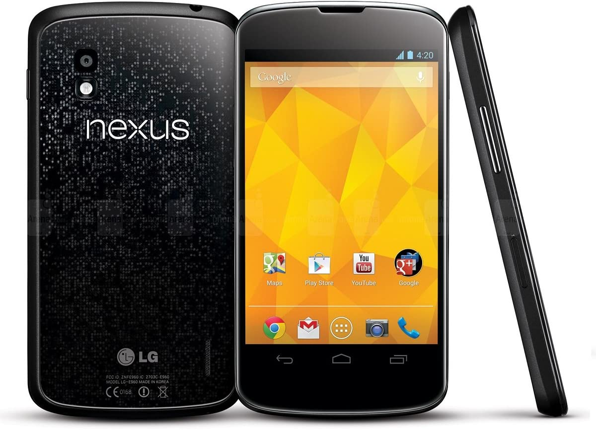 REY Funda Carcasa Gel Transparente para Google Nexus 4, Ultra Fina ...