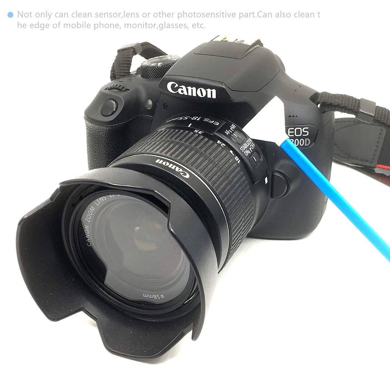SANHOOII Kit de Limpieza de cámara Digital DSLR o SLR, Sensor de ...