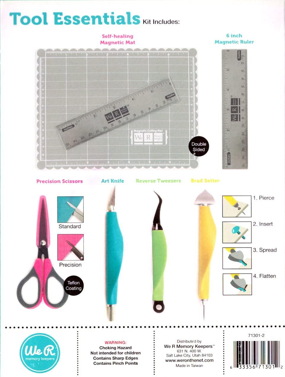 Crafter/'s Essentials /'Brad Setter/' Scrapbooking Tool WRMK We R Memory Keepers
