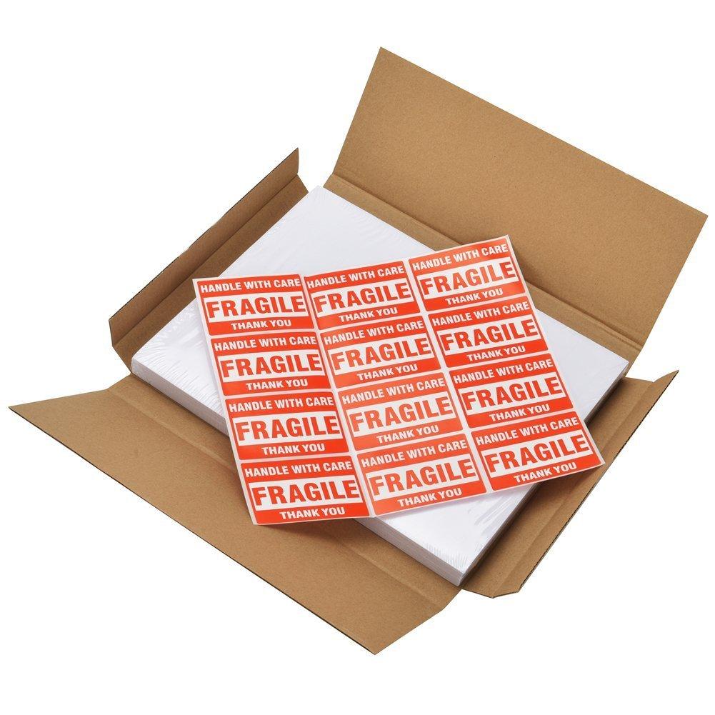MFLABEL Half Sheet Self Adhesive Shipping Labels for Laser /& Inkjet Printers 300 Count