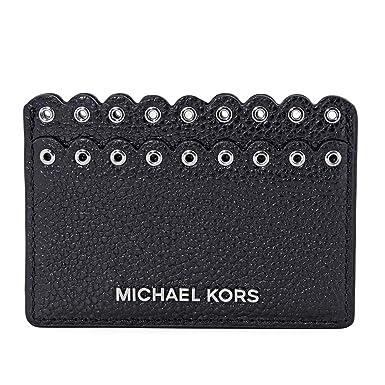 4ff42e004c6c Amazon.com: Michael Kors Money Pieces Card Holder- Black: Shoes