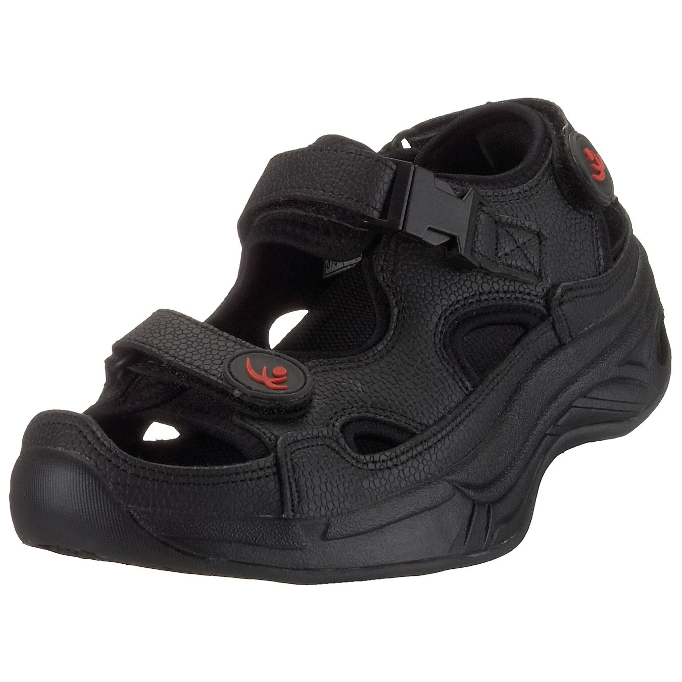 Chung Shi 9100095 AuBioRiG Comfort Step Sandale 9100095 Shi Damen Outdoor Sandalen Schwarz (schwarz) 887eb9