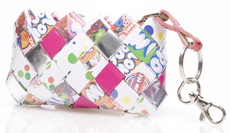 Amazon.com: NAHUI Ollin Candy Wrapper bolsas Mini Key cadena ...