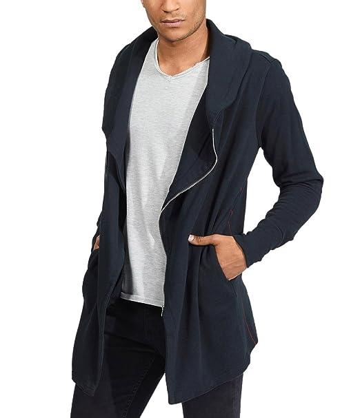 trueprodigy Casual Hombre Marca Sudadera Zip Basico Ropa Retro Vintage Rock Vestir Moda Deportivo Manga Larga Slim Fit Designer Cool Urban Fashion Jacket ...
