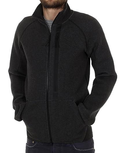 ca0a13555ce2 Nike Men s Tech Fleece N98 Charcoal Black Full Zip Track Top Jacket Size  Grey S