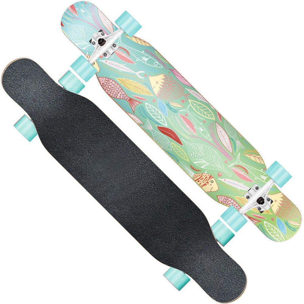 【期間限定!最安値挑戦】 F.shion ロングスケートボード A クルージング クルージング コンプリート スケートボード F.shion スケボー B078W8WPVG A A, タオルの森:4263b70e --- a0267596.xsph.ru
