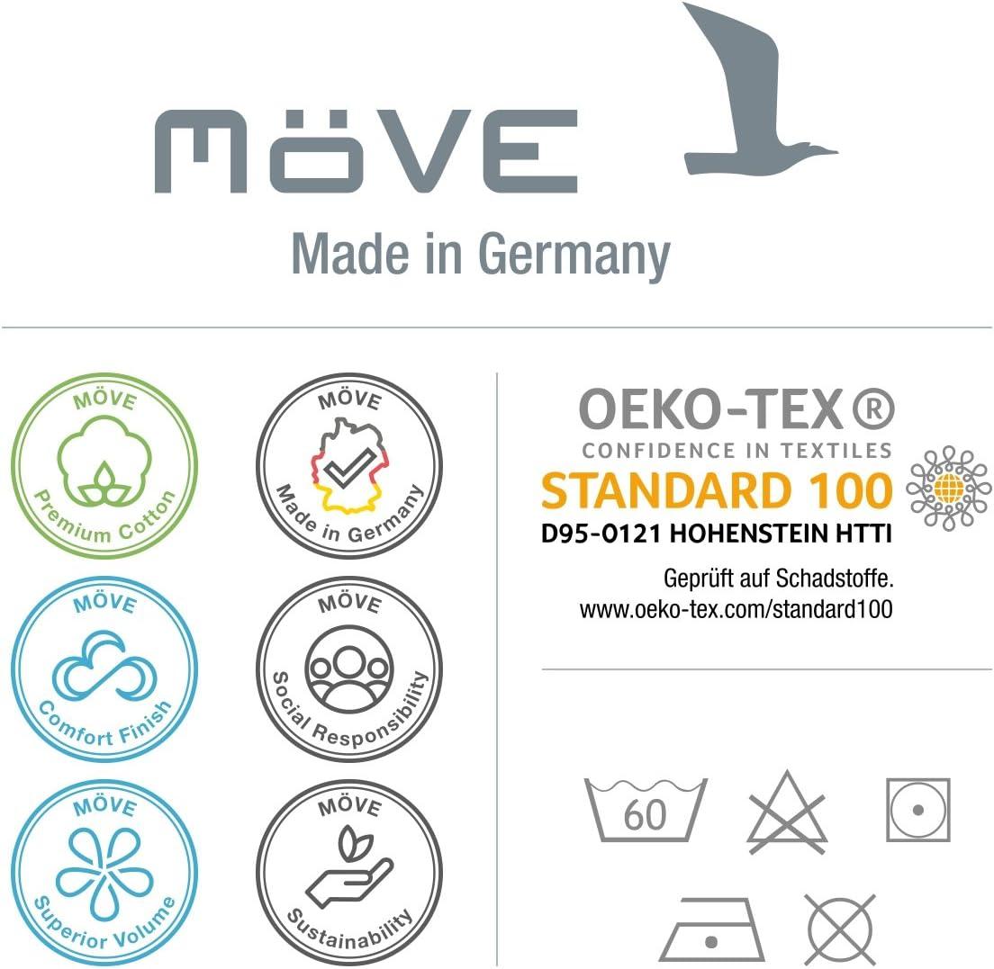 black M/öve Homewear Turban aus 100 /% Baumwolle