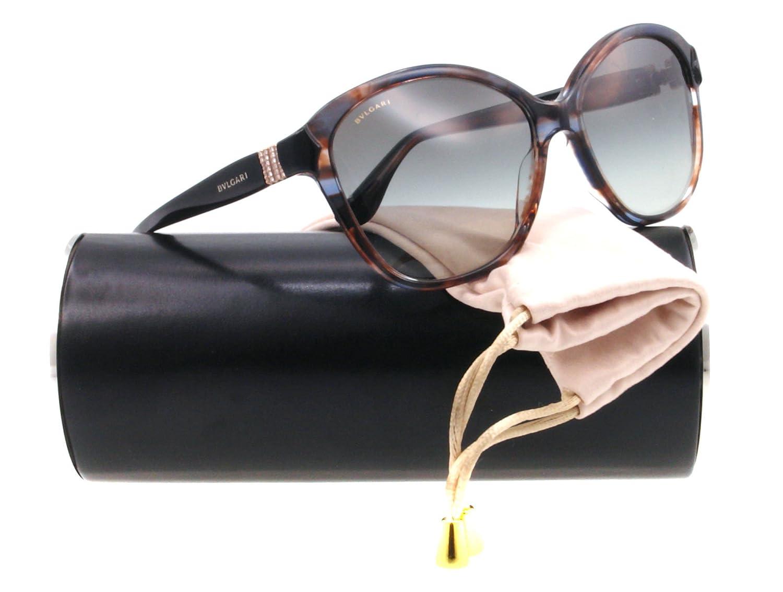 Bulgari Gafas De Sol Mod. 8092B 520211 Marrón/Negro: Amazon ...