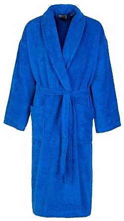 dce23e621d837 John Christian - Peignoir homme éponge bleu azur 100% coton (M ...