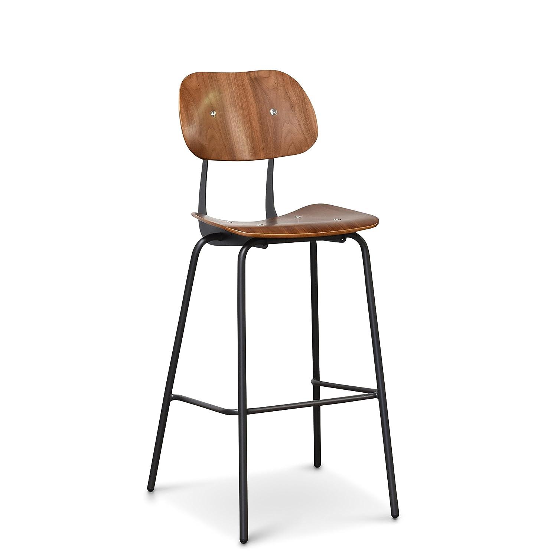 Fine Amazon Com Gingko Furniture Martin Barstool Walnut Beatyapartments Chair Design Images Beatyapartmentscom