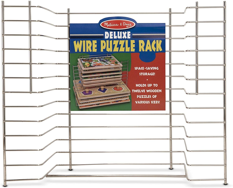 Melissa & Doug Deluxe Wire Puzzle Rack: Melissa & Doug, , 1525: Toys & Games