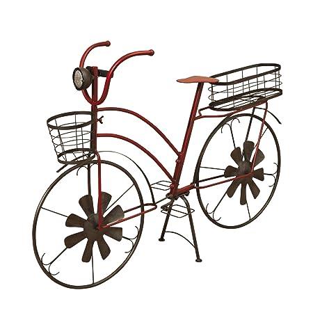 The Gerson Company - Macetero Solar para Bicicleta (Metal ...