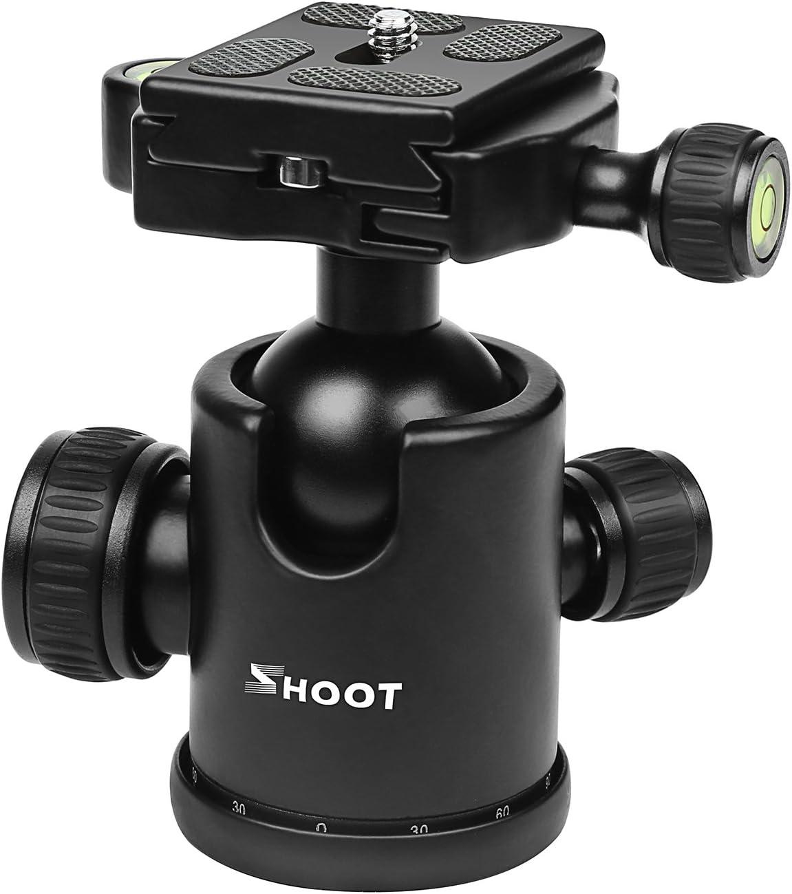 360° Pan Ball Head Rotating Panoramic 5-10kg Load For Camera Tripod Monopod UK