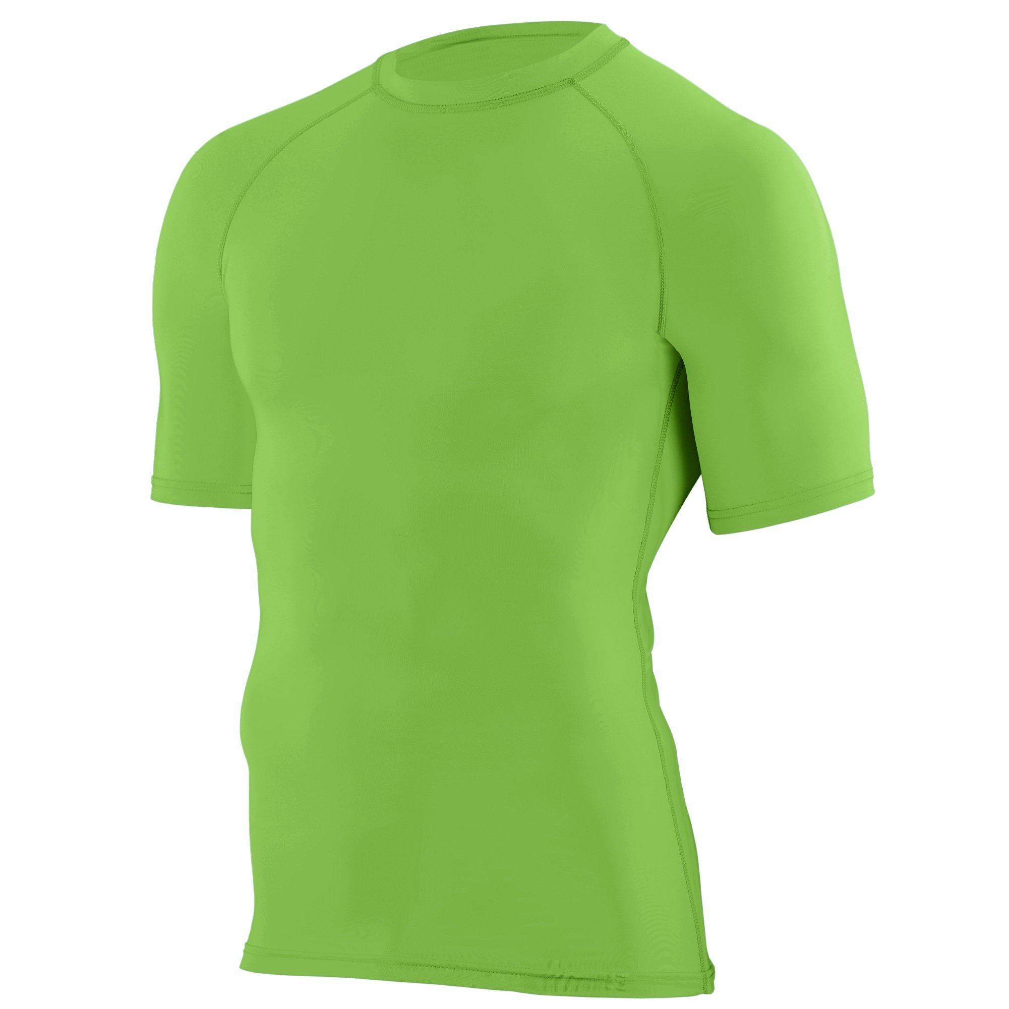 Augusta Sportswear Boys' Hyperform Compression Short Sleeve Shirt S Lime