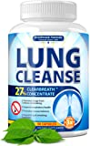 Lung Cleanse - Helps to Quit Smoking & Supports Respiratory Health - Effective Lung Detox - Made in USA - Lung Support…