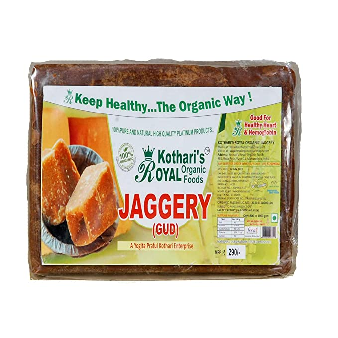 Kothari's Royal Organic Foods and Essential Oil Jaggery